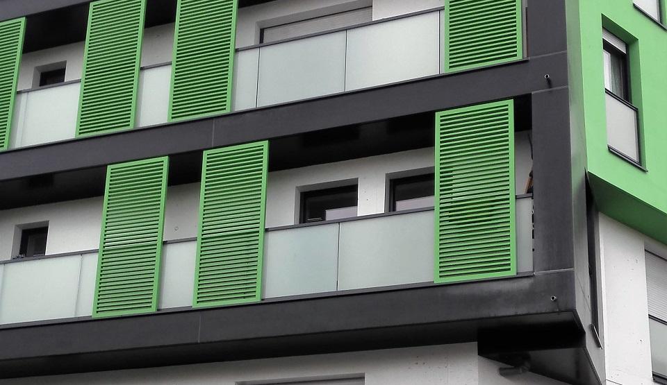 okiennice lamelowe